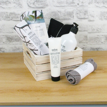 Wash and Replenish Hamper