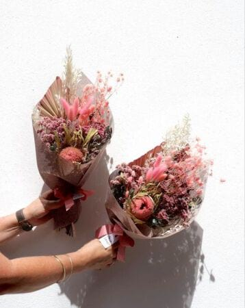 Pretty Dried Flower Posy